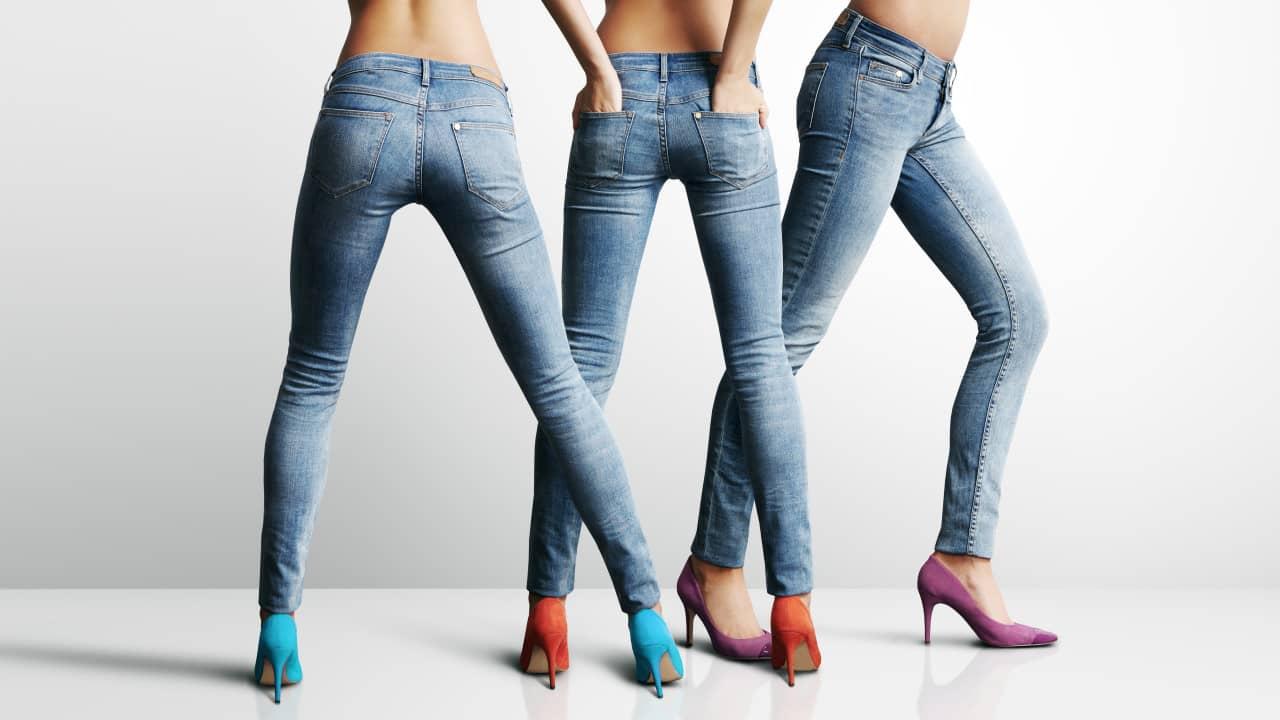 Jean slim vs jean skinny