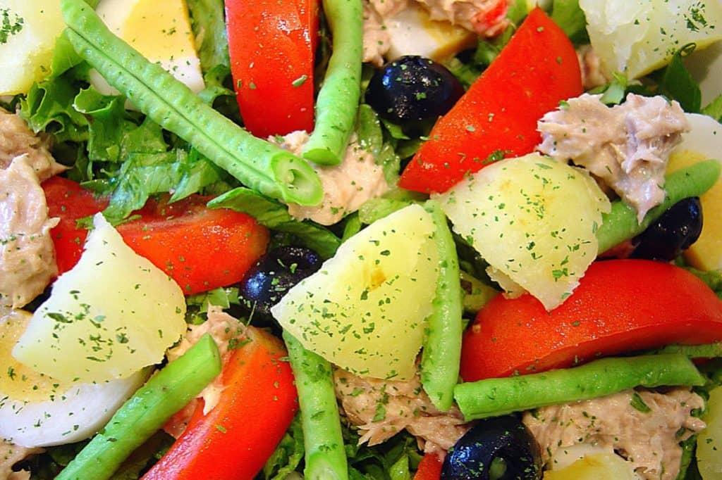 salade de pommes de terre froides