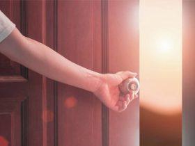 cacher une porte astuce décoration