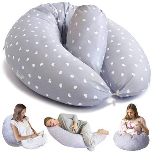 coussin d'allaitement positions