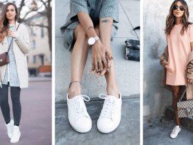 porter des sneakers femme