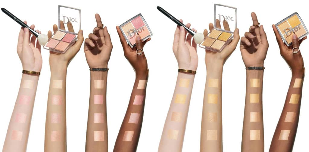 dior backstage glow face couleurs