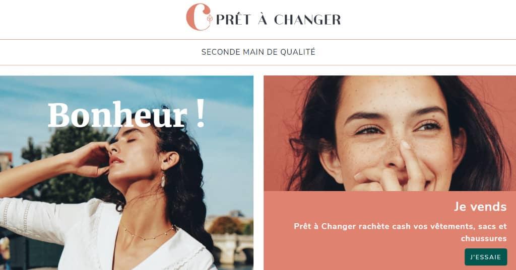 Prêt à Changer : seconde main de qualité