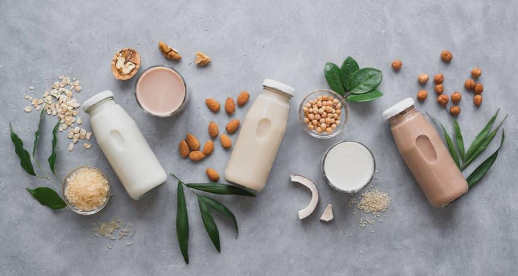 régime sans lactose lait végétal